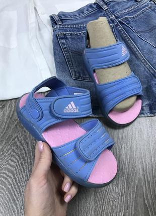 ️мягчайшие босоножки на липучке  adidas
