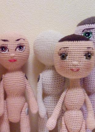 Заготовки вязаной куклы для творчества