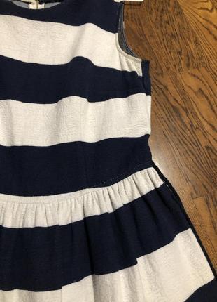 Полосатое платье майка /сарафан/ мини платье в полоску