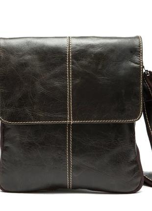 Сумка через плечо, мужская кожаная сумка. Арт. 2 /1050/