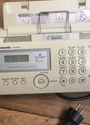 "Телефон-факс ""Panasonic KX FP 207"""