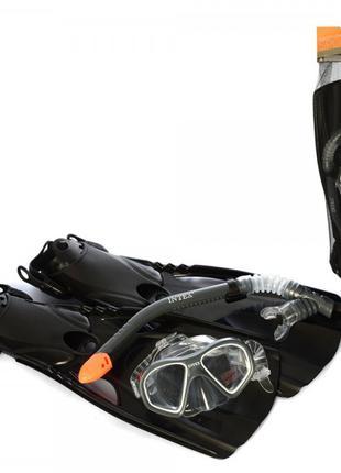 Набор для плавания 55657 Intex, ласты, маска, трубка
