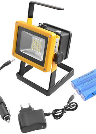 Ручной прожектор с полицейской мигалкой X-Balog 204 30W