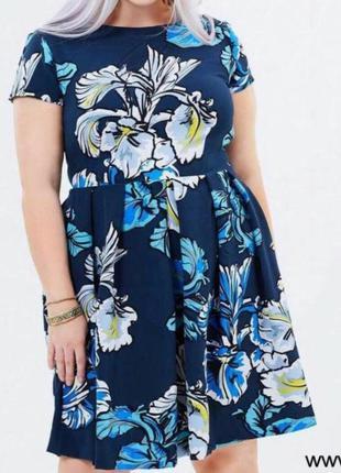 Шикарное нарядное платье большого размера