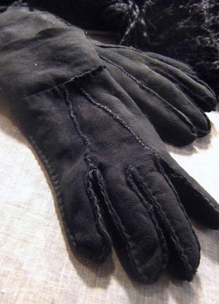 Перчатки из натурального меха
