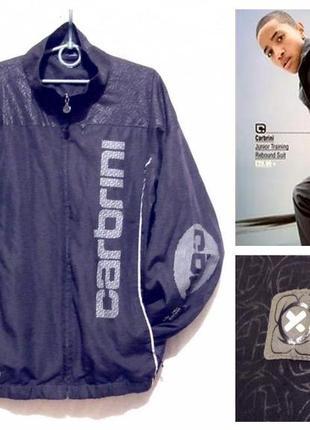 Куртка спортивная ветровка для тренировки carbrini