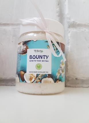 Скраб для тела и лица кокос баунти