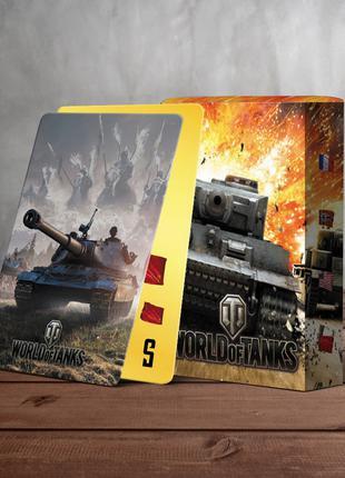 World of Tanks - сувенирные игральные карты. На подарок.