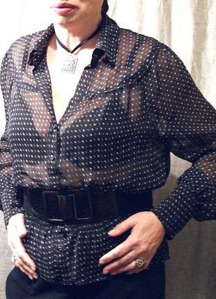 Блуза нарядная шифоновая