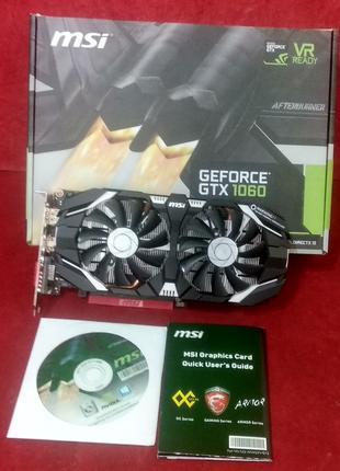Видеокарта MSI GTX 1060 3gb