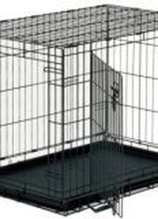 Клетка для собак, усиленная, на 2 двери, смотрите размеры в оп...