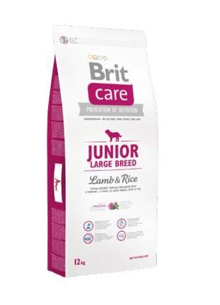 Сухой корм для собакBrit Care Junior Large Breed Lamb & Rice 1...