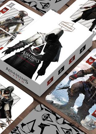Assassin Creed - карты игральные сувенирные. На подарок