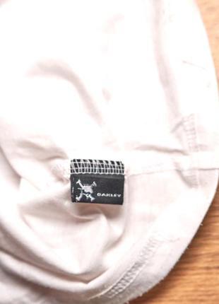 Оригинальная белая  футболка oakley