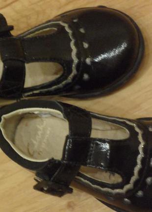 Туфли clarks, размер 20. кожа, вьетнам.