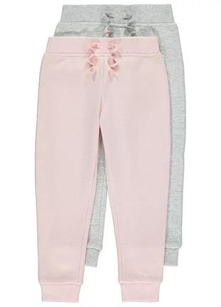 Розовые штаны george 4-5 лет, 104-110 см