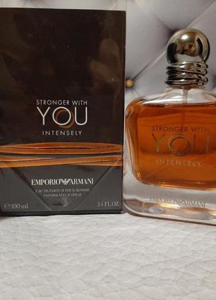 🖤оригинал 🖤100 мл парфюм giorgio armani stronger with you inte...