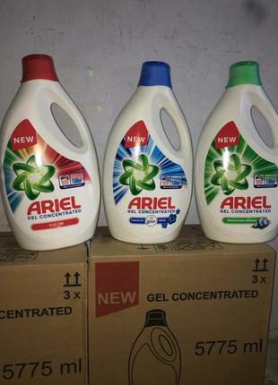 ARIEl Ариэль гель для стирки 5.775л!