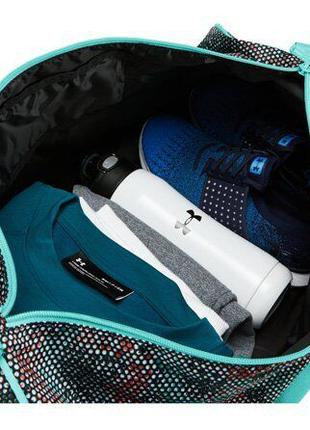 Сумка Under Armour UA Favorite Duffel 2.0 gray/light blue — 12947