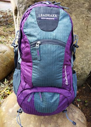 Рюкзак трекинговый LEADHAKE 45 L с каркасной спинкой