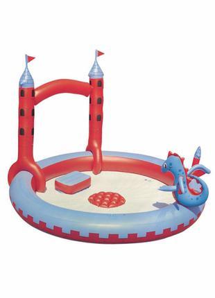 Игровой надувной центр Bestway 221х193х150 см Замок Дракона (5303