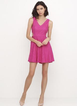 Новое женское летнее платье с разрезами.