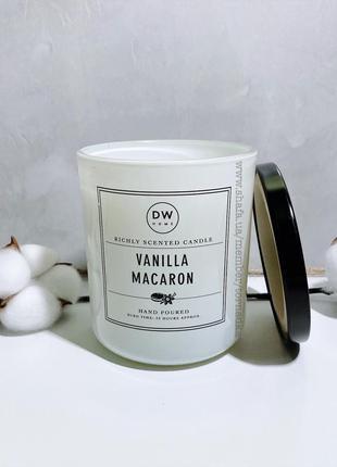 Ароматическая свеча dw home - vanilla macaron