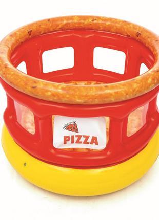 Надувной батут Bestway 52279 «Пицца», 155 х 155 х 109 см