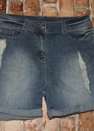 Шорты джинсовые девочке 13 лет