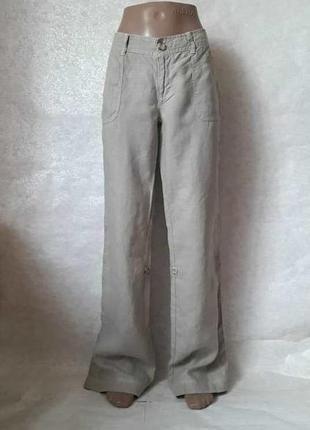 Новые летние брючки со 100 % льна 2 в 1 (брюки и бриджи) цвета...