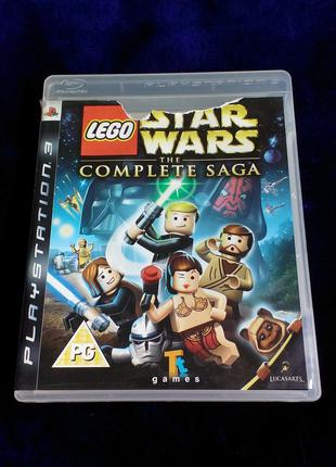LEGO Star Wars The Complete Saga для PS3