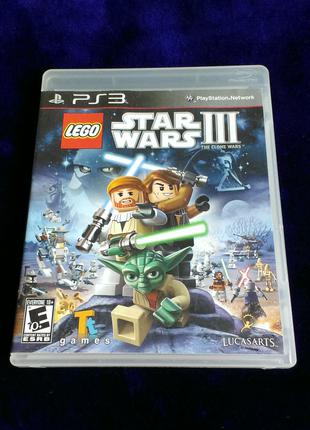 LEGO Star Wars 3 The Clone Wars для PS3