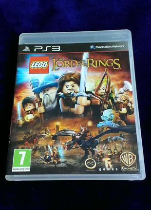 LEGO The Lord of the Rings (русский язык) для PS3