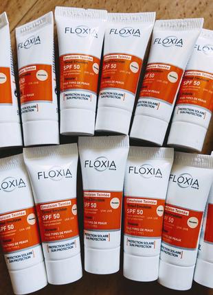 Солнцезащитный крем для лица floxia protexio spf 50