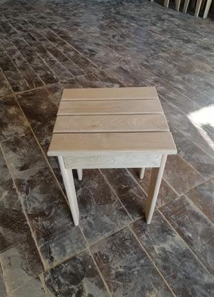 Табурет деревянный дубовый стул деревянный