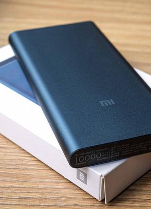Павербанк Xiaomi Mi Power Bank 10000 mAh White Оригинал