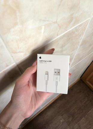 Оригинальный USB-кабель Lightning