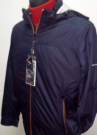 Осіння чоловіча куртка  BLACK VINYL 17-906