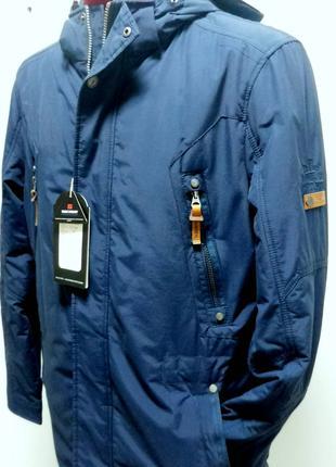 Осіння чоловіча куртка  BLACK VINYL 17-820