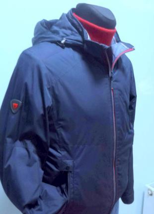 Осіння чоловіча куртка  BLACK VINYL 17-810 (р.48)
