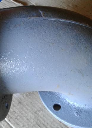 Отвод фланцевый равнопроходной чуг ду150 90грд