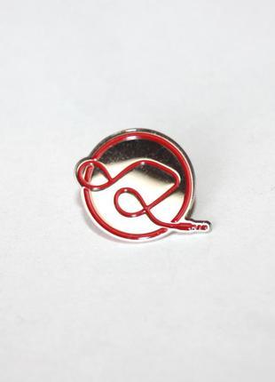 Пин брошка значок pin музыка ноты эмаль