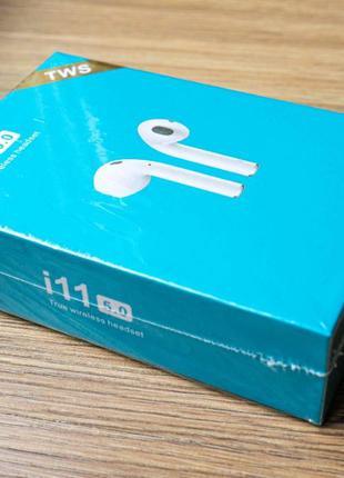 TWS i11 Bluetooth Наушники Супер-Акция Безпровідні Дроп Опт i1...