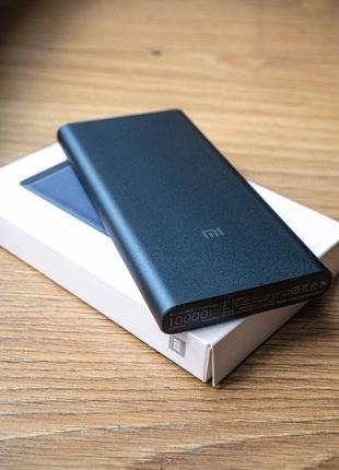 Павербанк Xiaomi Mi Power Bank 10000 mAh White Оригинал