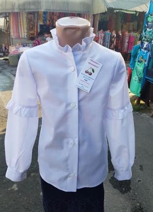 Нарядная блузка -  для девочек
