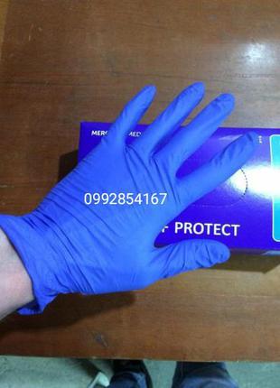 Перчатки нитриловые одноразовые размер XL L M S XS оптом