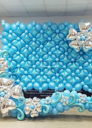 Фотозоны из воздушных шаров, декор воздушными шарами Киев