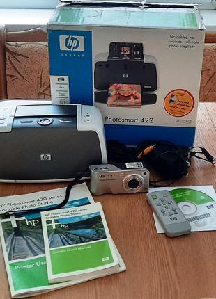 Портативная фотостудия HP Photosmart 420 / Струйный принтер