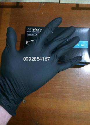 Перчатки нитриловые одноразовые опт XL L M S XS оптом