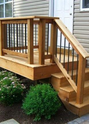 Ограждения для террас, веранд, балконов